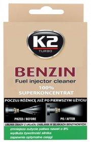 Purkštukų ir kuro sistemos valiklis, K2, Benzin