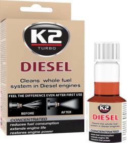 Purkštukų ir kuro sistemos valiklis K2 Diesel