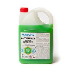 Aušinimo skystis NORDLINE Žalias -35°C G11 4 kg