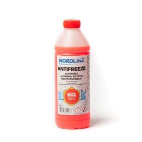 Aušinimo skystis NORDLINE, raudonas, -35°C, G12, 1kg