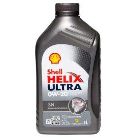 Variklio alyva SHELL HELIX ULTRA, SN 0W-20, 1L