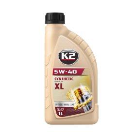 Variklinė alyva K2 5W-40, 1l, sintetinė