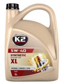 Variklinė alyva K2 5W-40, 5l, sintetinė
