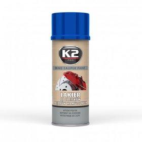 Stabdžių apkabos dažai, K2, Caliper, 400 ml., mėlyni