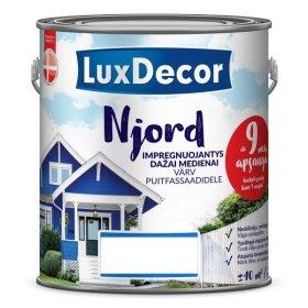Impregnantas medienai LUXDECOR NJORD, 2,5 l, Fjordo giluma