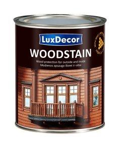 Medienos impregnantas Luxdecor Woodstain, Bespalvis 2,5 ltr.