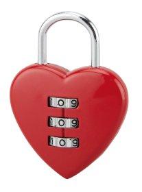 Pakabinama spyna THIRARD, su šifru Širdelė-Fantasy 1, 108001