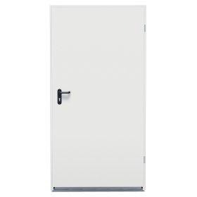 Plieninės durys HORMANN ZK Matmenys 1000x2100mm, lygios, dešininės, komplekte spynos korp., rankena, raktas.