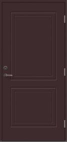 Durys VILJANDI SOFIA  M9, Matmenys 900 x 2100 mm, kairinės rudos spalvos, su stakta