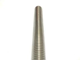 Sriegtas strypas A2 6 x 1000 mm  DIN975 Nerūdijančio plieno