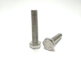 Varžtai PROFIX DIN933 M10 x 25 mm, A2, 5 vnt.