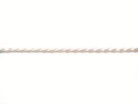 Mūrininko poliamidinė virvelė, 2,5mm, ritė 50m, baltos spalvos