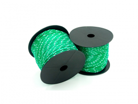 Mūrininko poliamidinė virvelė, 1,7mm, ritė 30m, žalios spalvos