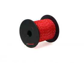 Mūrininko poliamidinė virvelė, 2,0mm, ritė 100m, raudonos /baltos spalvos