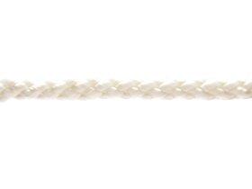 Poliamidinis lynas, 12mm × 15m, supintas, baltos spalvos
