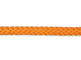 Pintas polipropileninis lynas, 5mm × 20m, oranžinės spalvos