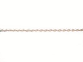 Pintas polipropileninis lynas, 10mm, baltos spalvos