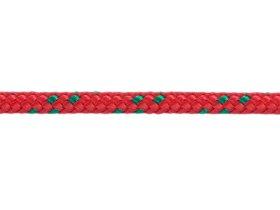 Polipropileninis lynas, 3mm, ritinys, 20m, raudonos/žalios spalvos