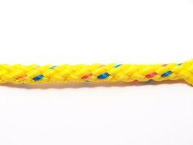 Pintas polipropileninis lynas, 8mm, geltonos/raudonos/mėlynos spalvos