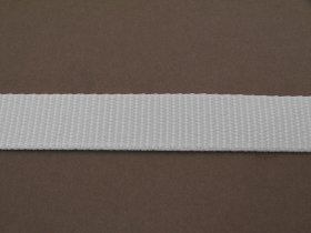 Ritininių užuolaidų diržas 15mm, PP pinta juosta, pilka