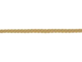 Suktas polipropileno lynas, 5mm, rausvai gelsvos spalvos