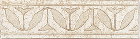 Plytelių keraminis dekoras ZALAKERAMIA TRAVERTINO Ninive SZ 106