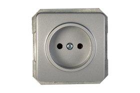 Kištukinis lizdas VILMA RP16-001-02 LX 200, metalo sp.