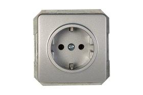 Kištukinis lizdas VILMA RP16-002-02 LX 200, metalo sp.