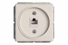 Kompiuterio lizdas VILMA KLRJ45-15e2-02 ST 150, baltos sp.