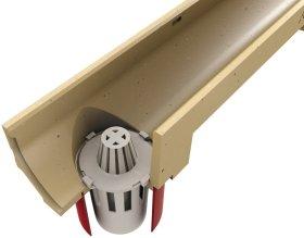 Plastikinis sifonas latakui ACO Euroline, d110 mm, 01666