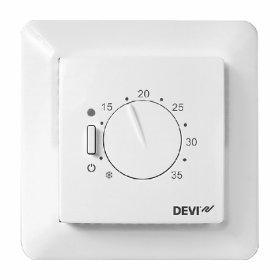 Termostatas  DEVIREG 530, 15 A Grindų šildymui, su temperatūros jutikliu, 140F1030