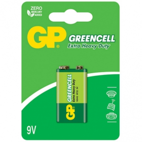 Maitinimo elementai GP GREENCELL, 9 V, 6F/22, 1604 G-UE1