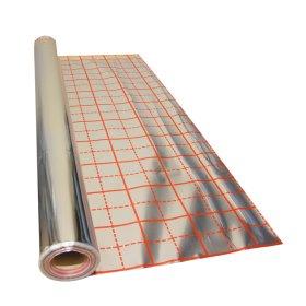 Garo izoliacinė plėvelė   Floor Alu 110 Šildomoms grindims, matmenys 1 x 50 m