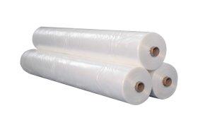 Polietileno plėvelė   Storis 50 mk, plotis 3 m, spalva  balta