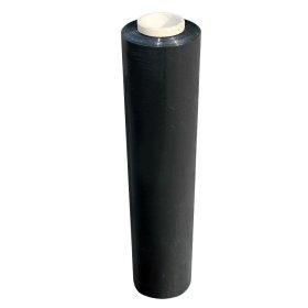 Polietileno plėvelė, 0,45 m x 150 m, 15 mk., juodos sp.