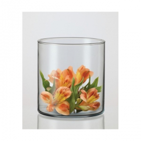 Vaza CILINDRAS, aukštis - 17,5 cm.