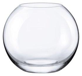 Vaza RONA, apvali, diametras - 15,5 cm.