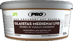 Glaistas medienai LVD balta, 0,5 kg