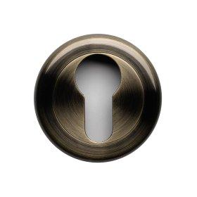 Durų apyraktė  17 PZ Cilindrui, universali, skirta TESA 710 rankenoms, sendinto žalvario spalvos