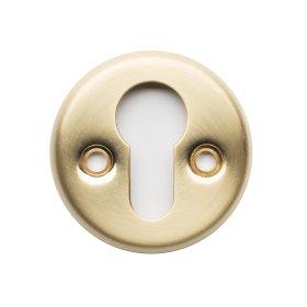 Durų apyraktė  216 PZ FE Cilindrui, skersmuo 50 mm, skirta 118/006 rankenoms, matinės geltonos spalvos