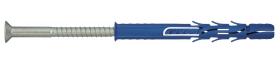 Nailoninis kaištis su sraigtu Torx 40, 10 x 200 RAWLPLUG  Prailgintas, padidinto plėtimosi, sraigtas įleidžama galva.
