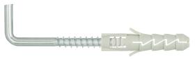 Išsiplečiantys kaiščiai su kabliu FIX, 90', 8,0 x 40/5,0 x 50 mm, 4 vnt