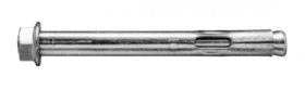 Rankoviniai inkarai su veržle KOELNER 10 x 40 mm, 4 vnt