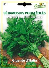 Sėklos, sėjamosios petražolės HORTUS GIGANTE D ITALIA