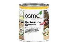 Medienos aliejus su kietaisiais vaškais OSMO Original 3065, skaidrus pusiau matinis, 0.75 l