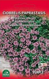 Sėklos gėlių, čiobrelis paprastasis   (02-07mėn).