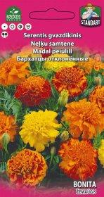 Sėklos gėlių, serentis gvazdikinis Standart Liliput Mix (Bonita, mišinys)