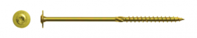 Grūdintas sraigtas 8 x 140 mm RAWLPLUG TORX Medienos konstrukcijoms, plokščia galva, N