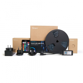 Išmanioji šviesos diodų juosta SONOFF L1, LED 2 m, 24 W / m, IP65, RGB, 230V, 300 lm / m, Wi-Fi, IM180529001