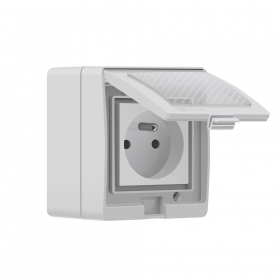 Išmanusis kištukinis lizdas SONOFF S55, 3500 W, 230 V, IP55, Wi-Fi, valdomas programėle, galima valdyti balsu, IM190314004